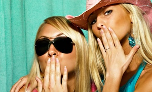 James's Photo Booth Services: 4-Hour Photo-Booth Rental from James Photo Booth Services (45% Off)