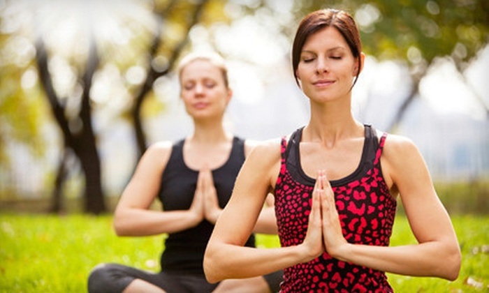 Hiking Yoga - Sylvan - Highlands: Two Classes or Private Yoga Hike for Up to 15 People from Hiking Yoga (Up to 53% Off)