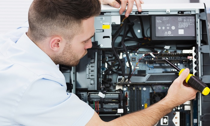 EdgeNet - Bayside: Computer Tune-Up or Two Hours of On-Site Computer Service from EdgeNet (Up to 72% Off)