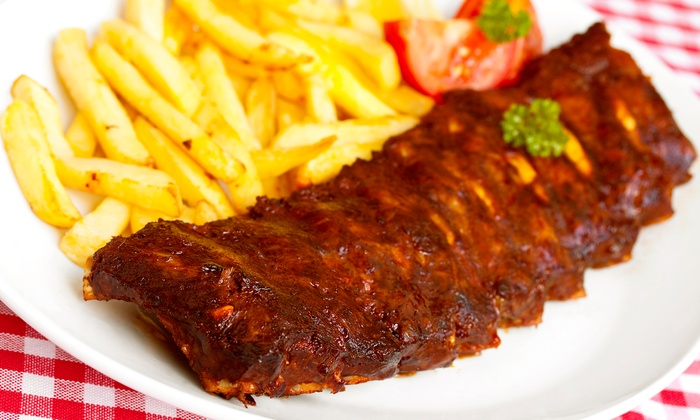 Alfie's Inn - Glen Ellyn: $7 for $15 Worth of Burgers, Baby Back Ribs, and Barbecue at Alfie's Inn