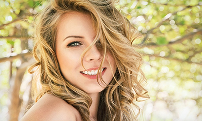 Salon Di Panache - Newton: Haircut and Blowout with Deep-Conditioning, Root Color, or Full Highlights at Salon Di Panache (Up to 56% Off)