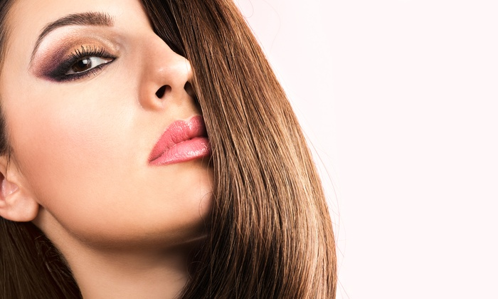 Gina Marie Hair Design - Woodridge: Smoothing Keratin Protein Treatment with Optional Cut or Extensions at Gina Marie Hair Design (Up to 59% Off)