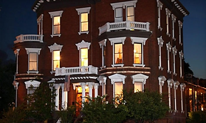 See Savannah Walking Tours - Wright Square: 90-Minute Savannah Hauntings Ghost Tour for One, Two, or Four from See Savannah Walking Tours (Up to 56% Off)