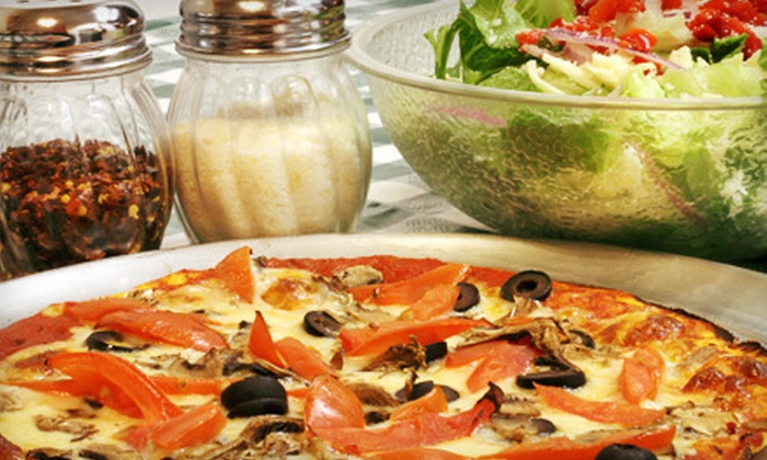 Manhattan Express - Clayton: $15.94 for Pizza Meal for Two at Manhattan Express (Up to $29 Value)
