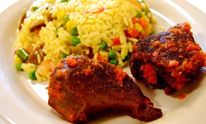 Beautiful Shades Restaurant & Event Center - Lafayette Square: Nigerian Cuisine and Soul Food at Beautiful Shades Restaurant & Event Center (Up to 48% Off). Two Options Available.