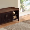 Simpli Home Dorset Entryway Storage Bench
