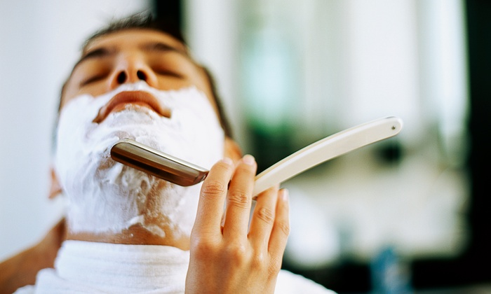 Dapper & Company Men's Grooming Lounge - Augusta: $25 for a Men's Cut and Signature Razor Shave at Dapper & Company Men's Grooming Lounge ($75 Value)