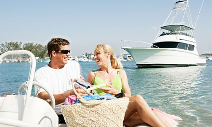 Grand Yacht Club - Central Beach: Sunset Yacht Cruise, Overnight Cruise Package, or Weekend Cruise Package from Grand Yacht Club (Up to Half Off)