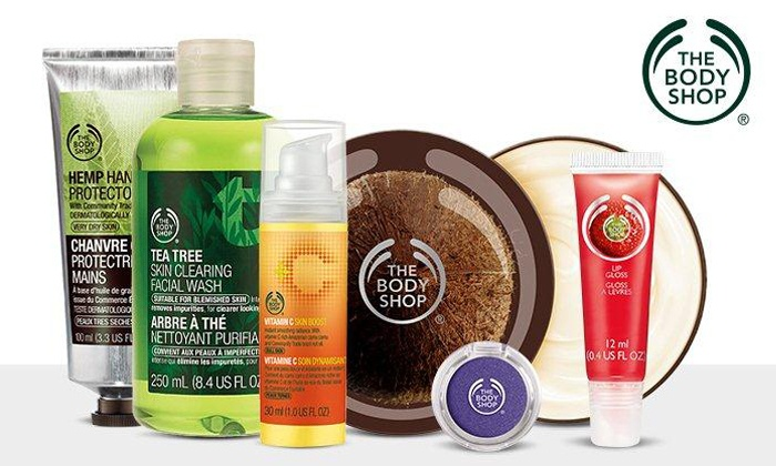 The Body Shop - Kenwood Towne Center: $15 for $30 Worth of Ethical Skincare, Makeup, Hair, and Body Products at The Body Shop