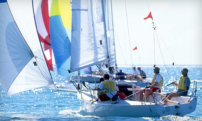 South Bay Sailing - Redondo Beach: $65 for a One-Hour Sailing Excursion for Up to Four from South Bay Sailing ($135 Value)