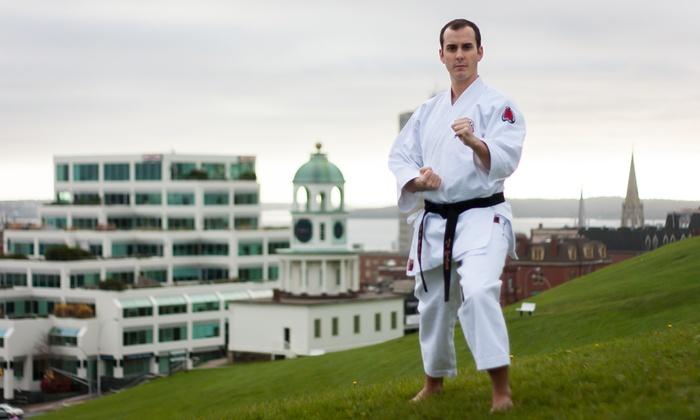 Atlantic Karate Club - Halifax: Five or Ten Drop-In Classes or Three Month Membership with Uniform at Atlantic Karate Club (Up to 62% Off)
