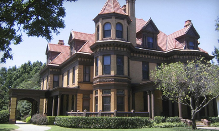 Henry Overholser Mansion - Central Oklahoma City: Henry Overholser Mansion Visit for Two or Four (Up to Half Off)