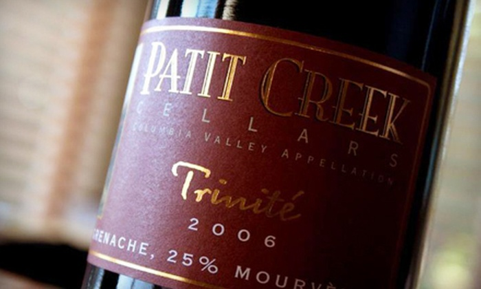Patit Creek Cellars - Woodinville Tourist Distric: One-Hour Wine-and-Food Pairing for Two, Four, and Six at Patit Creek Cellars in Redmond (Up to 55% Off)