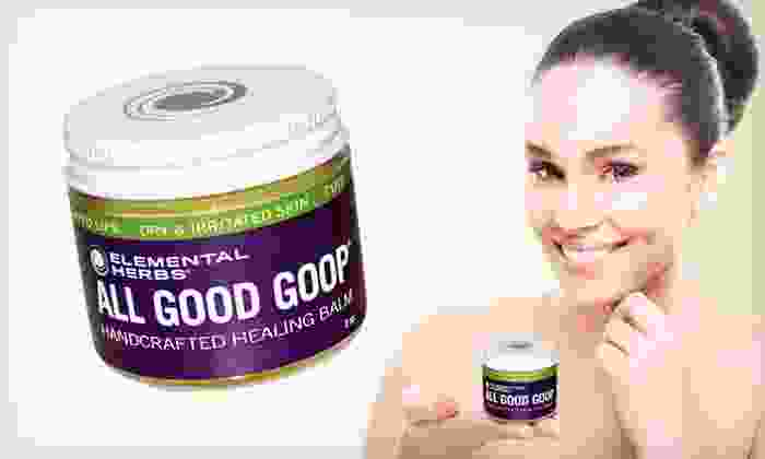 All Good Goop Healing Balm Two-Pack: $12.99 for Two 2-Ounce Jars of All Good Goop Organic Healing Balm ($27 List Price)
