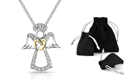 Philip Jones Angel Necklace
