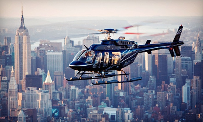 Helicopter Flight Services, Inc. - Jersey City: 15-, 20-, or 30-Minute Helicopter Tour of New York City from Helicopter Flight Services, Inc. (Up to 40% Off)