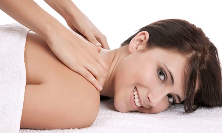 Customized-Massage with Optional Chiropractic Services at Guru Chiropractic (Up to 91%Off). Five Options.