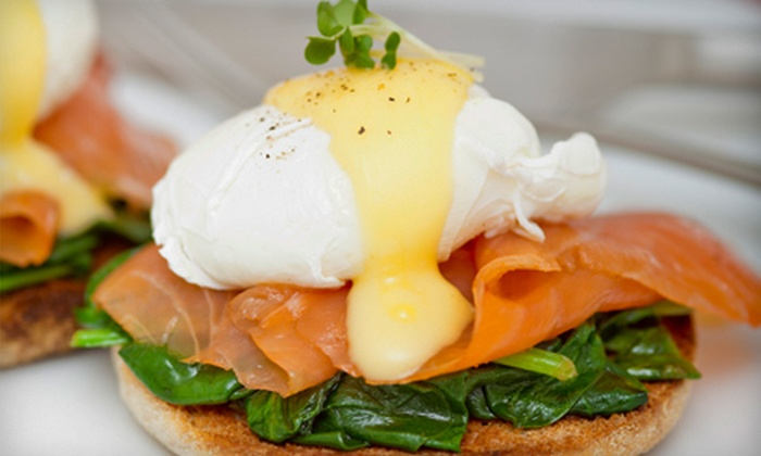 Monteros (formerly Cafe Biere) - Albany: American Bistro Brunch for Two or Four with Unlimited Mimosas at Monteros (formerly Cafe Biere) (Half Off)