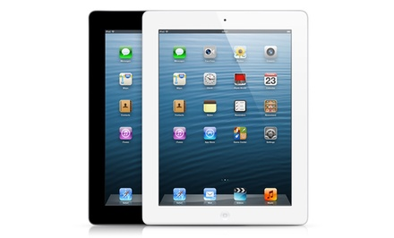 Apple iPad 4 with Retina Display WiFi, 4G Cellular, and GSM Unlocked (Refurbished). 16GB or 32GB from $399.99–$419.99.
