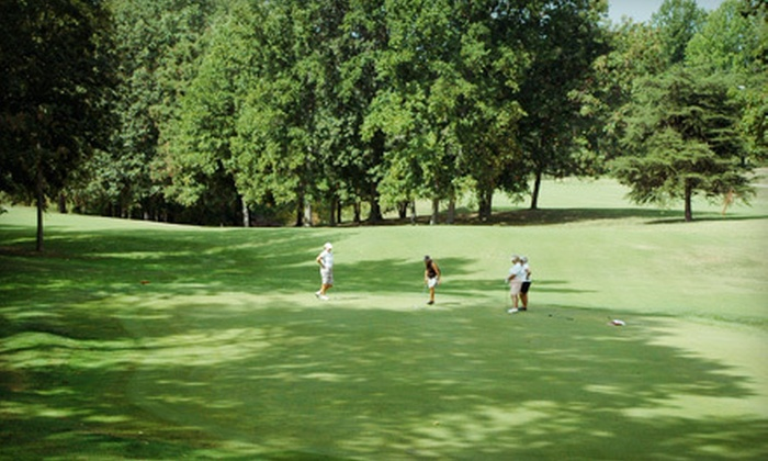 Eagle's Nest Country Club - Somerset: 18-Hole Round of Golf for Two or Four with Cart Rental and Range Balls at Eagle's Nest Country Club (Up to 56% Off)