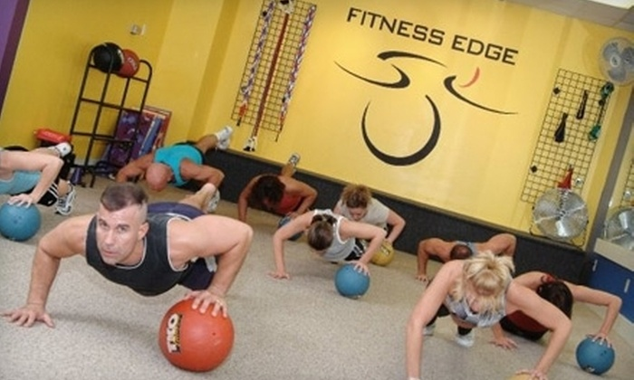 Fitness Edge - Multiple Locations: Five Boot-Camp Classes or Six Weeks of Unlimited Boot-Camp Classes at Fitness Edge in Rocky River (Up to 75% Off)