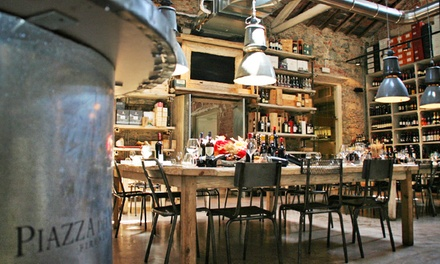 Menu gourmet in zona stadio piazza del vino groupon for Groupon shopping arredamento