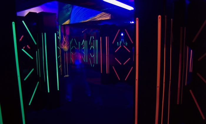 LazerRush - Kiln Creek: 3 or 10 Games of Laser Tag at LazerRush (Up to 55% Off)