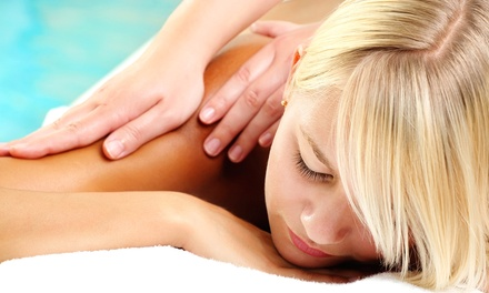 $69 for an 80-Minute Deep-Tissue Massage with Eucalyptus Steam Bath at Sunrise Massage ($160 Value)
