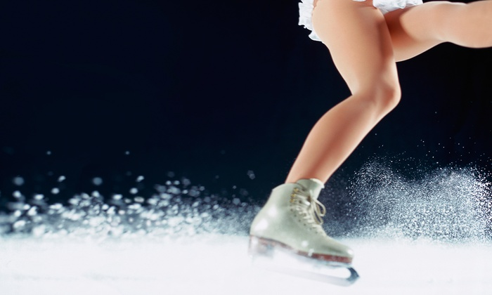 Tisha Walker - Simi Valley: Three or Five Private Ice-Skating Classes with Tisha Walker (Up to 62% Off)
