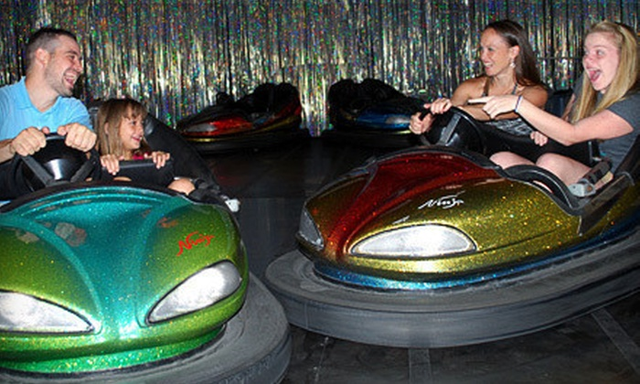Happy Days Family Fun - Happy Days Arcade: Unlimited Laser Tag and Bumper-Car Rides for One, Two, or Four at Happy Days Family Fun (Up to 55% Off)