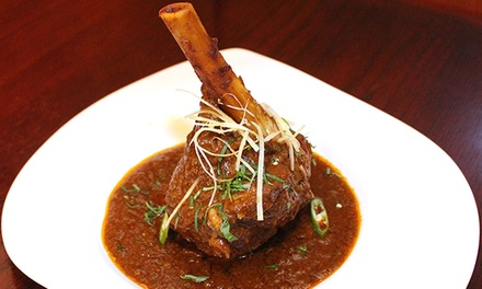 Indian and Latin Tapas and Drinks at Urban Spice (Up to 53% Off). Two Options Available.