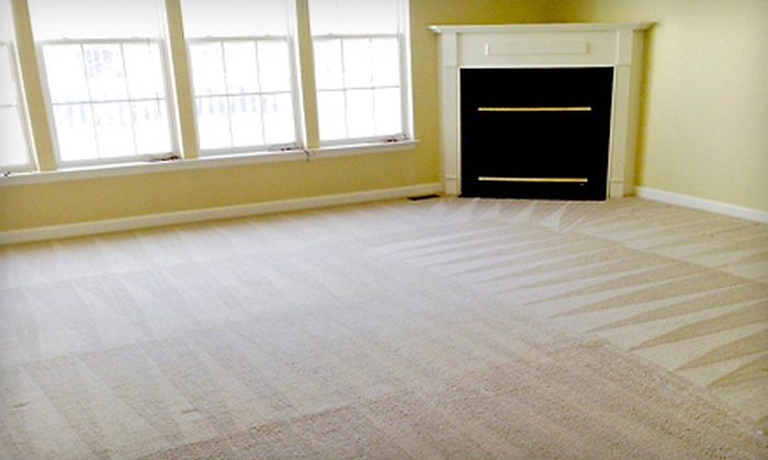V.I.P. Carpet Cleaning - Indianapolis: Carpet Cleaning for Three Rooms and Optional Staircase from V.I.P. Carpet Cleaning (Up to 69% Off)