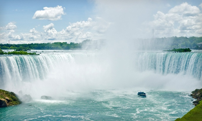 Four Points by Sheraton Niagara Falls - Niagara Falls, NY: $89 for a One-Night Stay with Wine at Four Points by Sheraton Niagara Falls in Niagara Falls, NY (Up to $167 Value)
