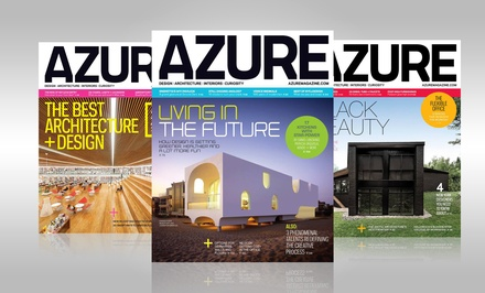 1-Year Subscription to Azure Magazine (8 Issues)