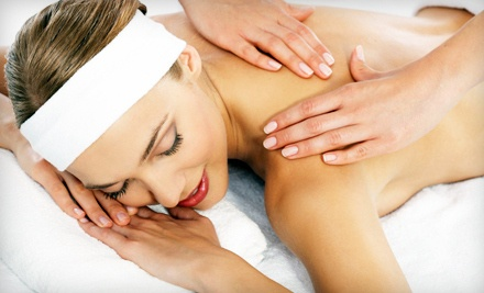 45-Minute Massage Enhanced with Hot Stones and Aromatherapy and Enhanced with Hot Stones and 45-Minute Vitamin-C Facial (a $160 value)  - The Loft At Dawchers in Winter Park