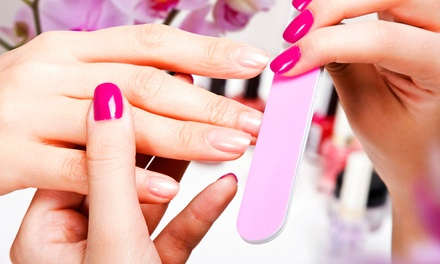 Shellac Manicure, or Paraffin Manicure and Classic Pedicure at Euphoria Salon (Up to 52% Off)