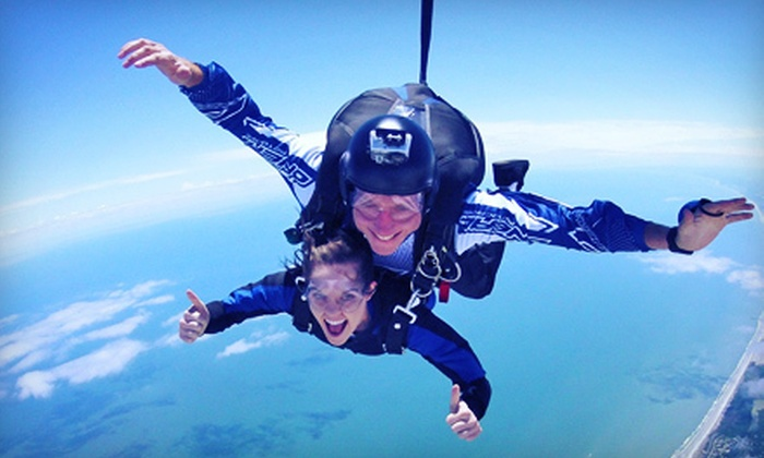 Skydive Myrtle Beach - Little River: Tandem Jump for One or Two from Skydive Myrtle Beach (Up to 48% Off)