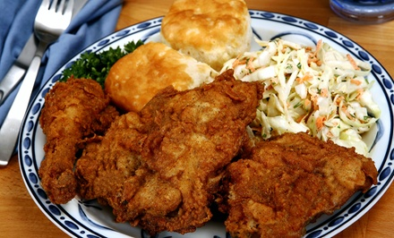 Soul-Food for Two or Four at Miss Mamie's Spoonbread Too (50% Off)