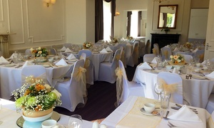 Mansfield Manor Hotel - Non-Accommodation: Wedding Package with the Bridal Suite and an Optional Outside Wedding at Mansfield Manor Hotel