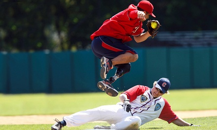 $12 for Two Tickets to a Wounded Warrior Amputee Softball Game at San Manuel Stadium on Saturday, October 4 ($20 Value)