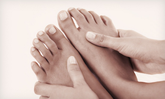 Laurel Foot and Ankle Center, LLC, and Northern Virginia Foot and Ankle Associates, LLC - Multiple Locations: Fungus Removal for 5 or 10 Toes at Laurel Foot and Ankle Center or Northern Virginia Foot and Ankle Associates (Up to 75% Off)