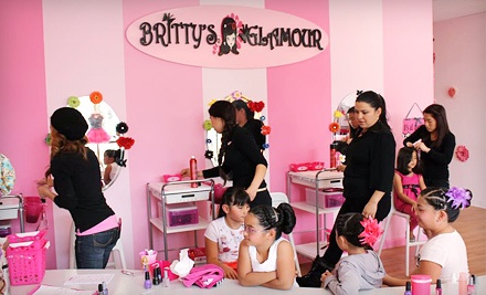 Mini Nail Service, Lil' Princess Package, One-Hour Tea Party, or Two-Hour On-Location Mobile Party (Up to 52% Off)