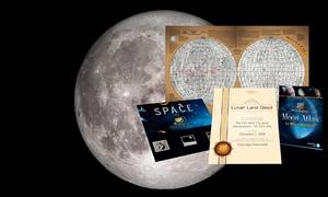 Moon Register: Koop een stukje van de maan in een standaard- of premium-pakket bij Moon Register