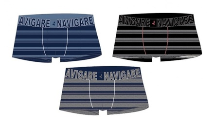 PACK 6 Boxer Navigare Uomo