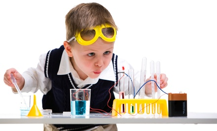 $249 for a Five-Day Kids' Science Camp from Destination Science ($369 Value). 18 Options Available.