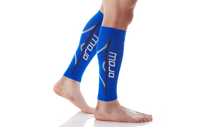 c3eef19e0f 1 Pair of MoJo Elite Running Calf Graduated Compression Sleeves