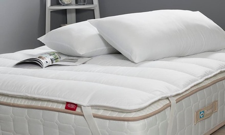 Sealy Comfort Plus Mattress Topper and Pillow Set in Choice of Size