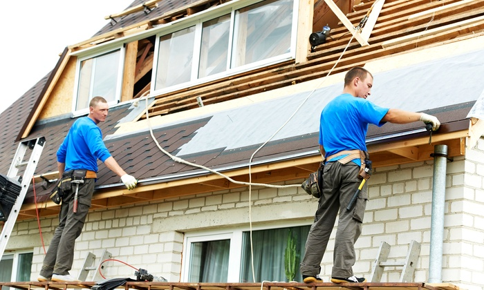 RJF Construction Inc - St Louis: $49 for Roof Repair plus a $100 Credit Towards Another Repair from RJF Construction, Inc ($350 Value)
