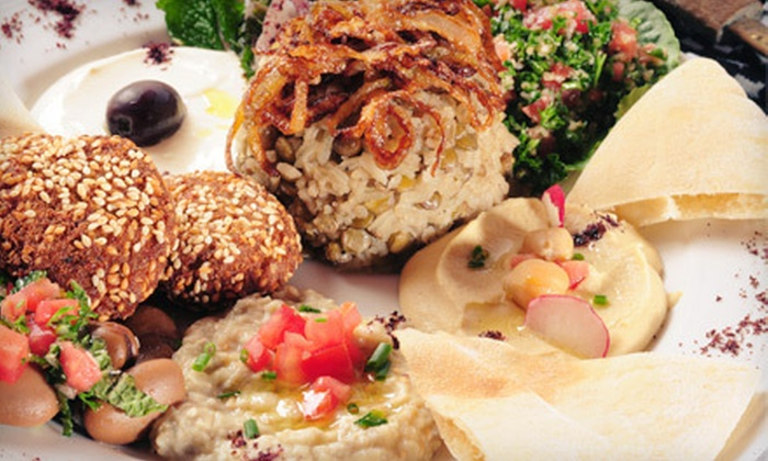 Casbah Mediterranean Buffet - Briar Meadow: Mediterranean Buffet with Soft Drinks for Two or Four at Casbah Mediterranean Buffet (Half Off)