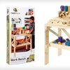 $69 for a 38-Piece Kids' Wood Workbench Set